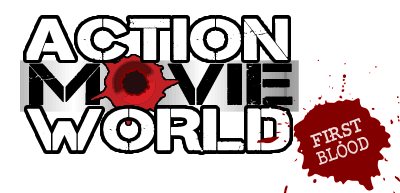 ACTION MOVIE WORLD: First Blood Logo