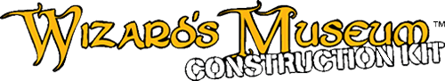 Wizard's Museum Construction Kit Logo